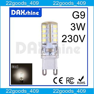 1 x DAXSHINE 36LED G9 3W AC230V Cool White 6000-6500K 240-260lm